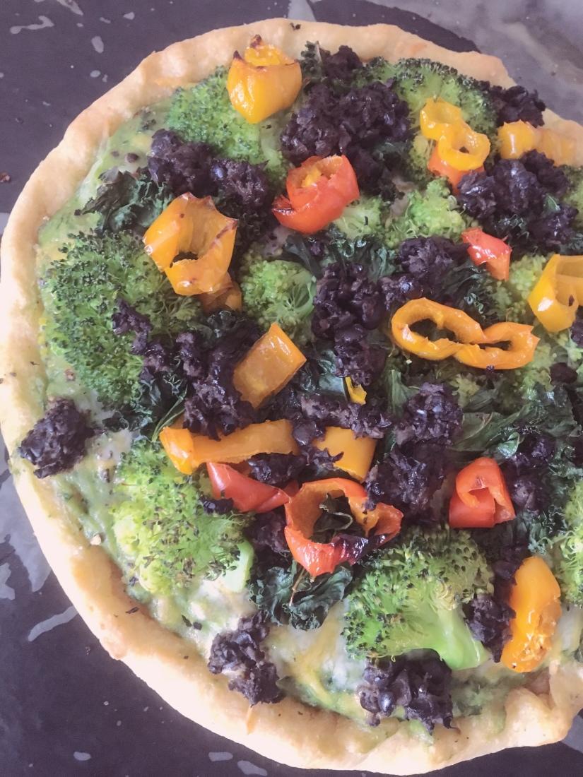 Green Monster Pizza