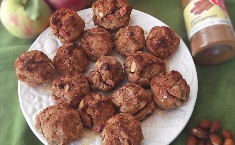 Paleo Gluten-Free Apple FritterBites